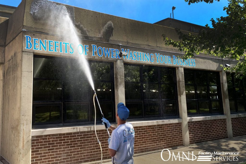 power washing your business